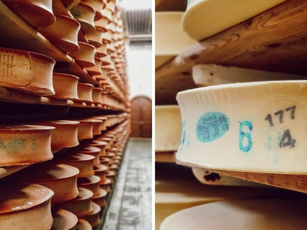 Visite de la coopérative laitière du Beaufortain