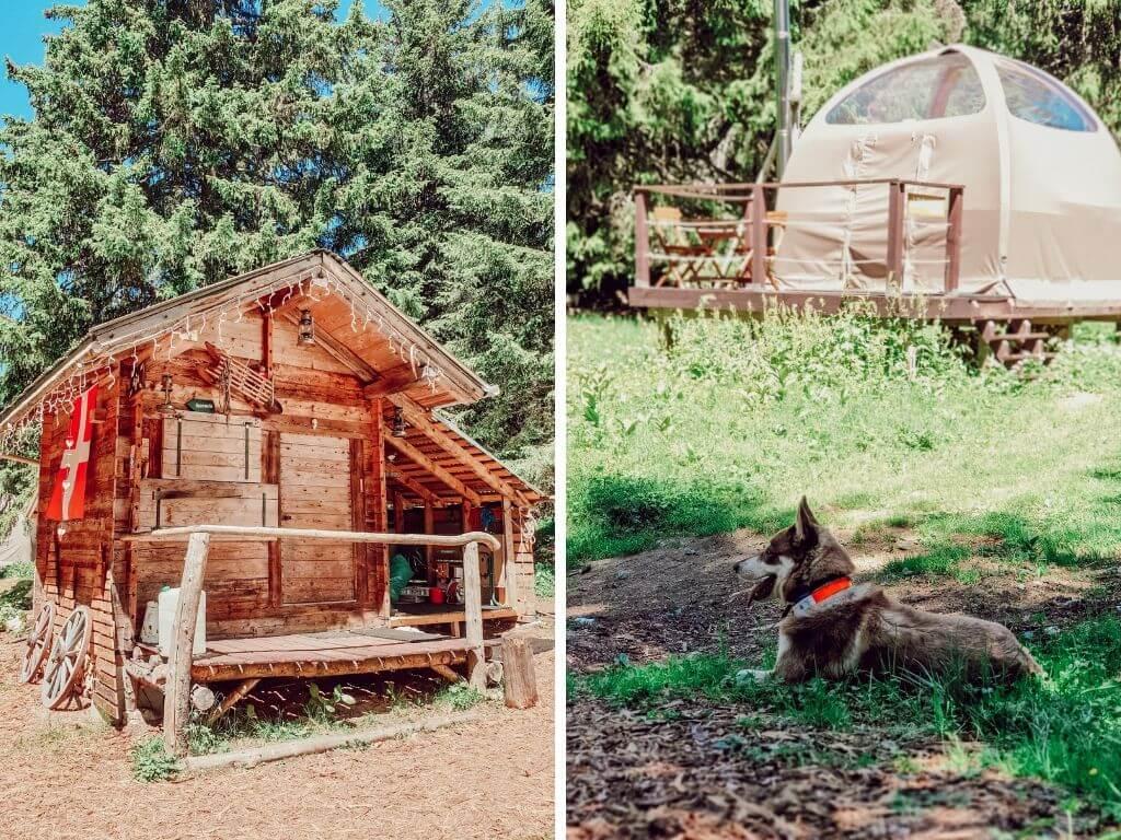 Eco-Bivouac,  Station du Semnoz, logement insolite