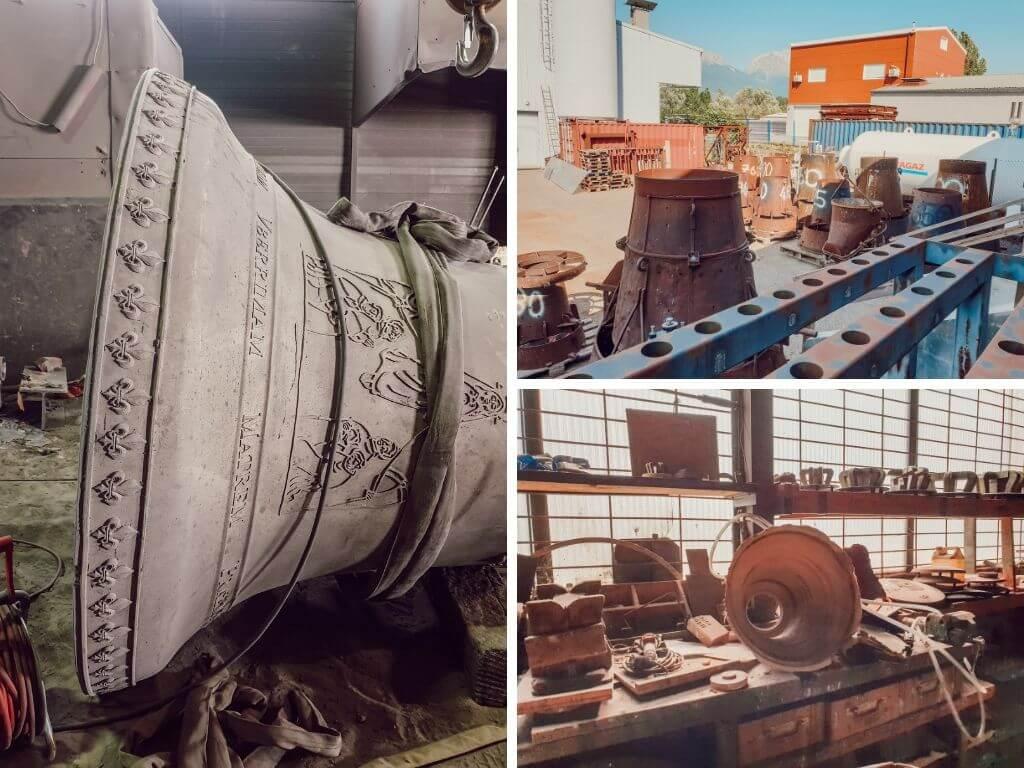 Visite de la fonderie de cloches Paccard, Sevrier Lac Annecy