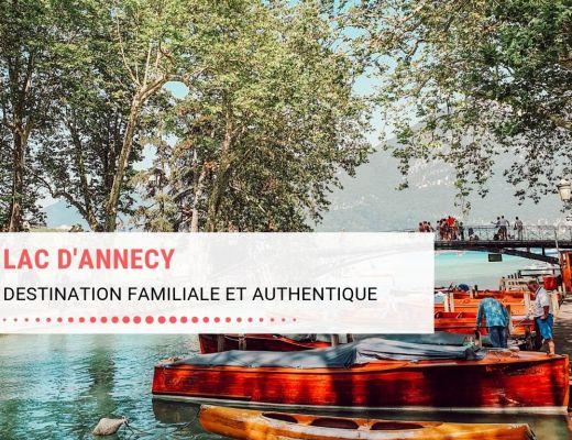 Lac d'Annecy, destination familiale et authentique : activités, restaurants, visites, hébergements