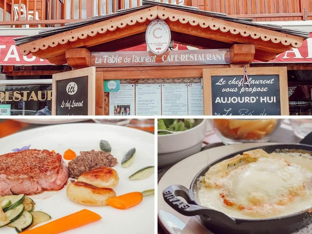 Restaurant gastronomique Les Saisies : Les Arcades, cuisine savoyarde