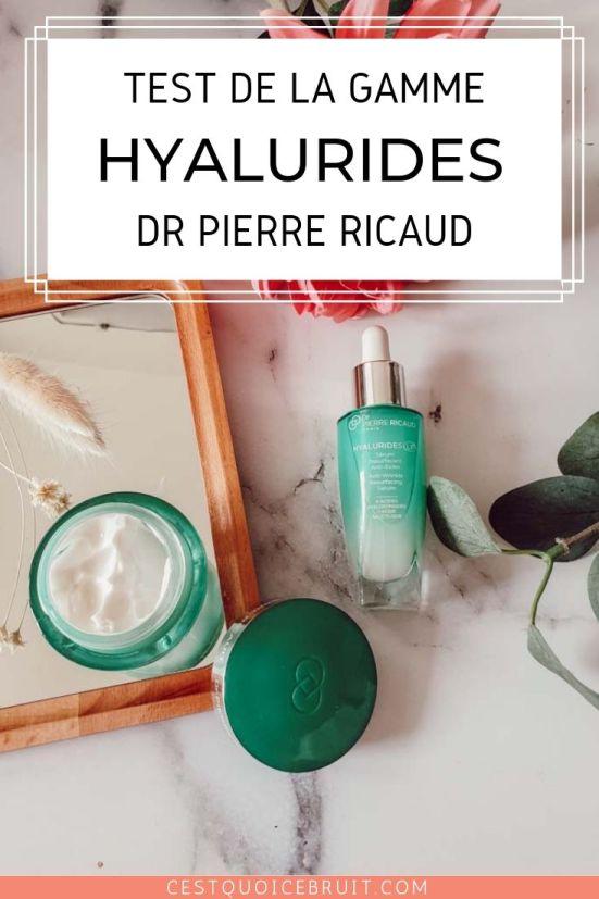Test de la gamme Hyalurides LP de Dr Pierre Ricaud, soins jeunesse anti-rides #beauté #test #rides #jeunesse #skincare
