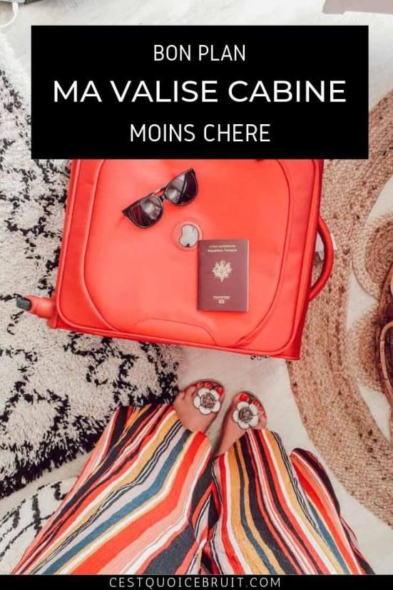 Mon bon plan voyage : ma valise cabine moins chère #voyager #astuce #bonplan #bagage #cabine #avion