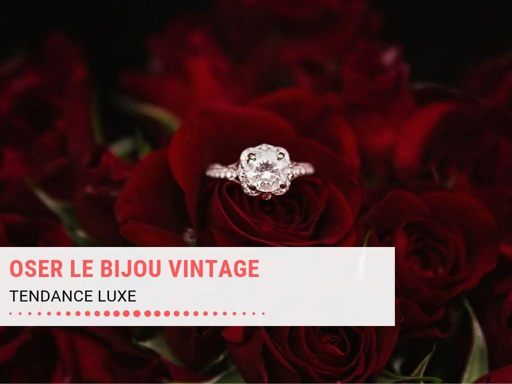 Offrir un bijou vintage ou une bague de luxe #mode #bijou #bijouterie #kuxe #fashion