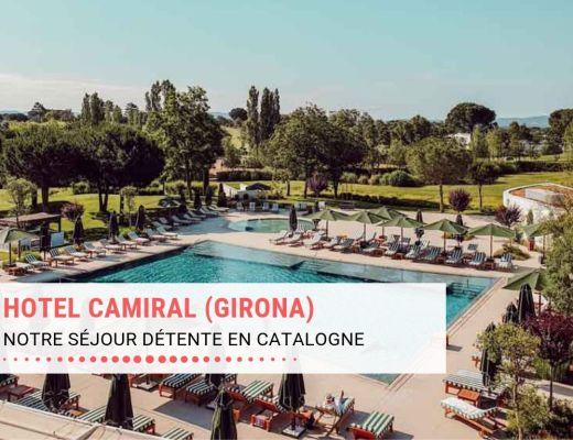 Notre séjour détente à l'Hôtel Camiral de Girona (Caldes de Malavella), hôtel 5 étoiles en famille