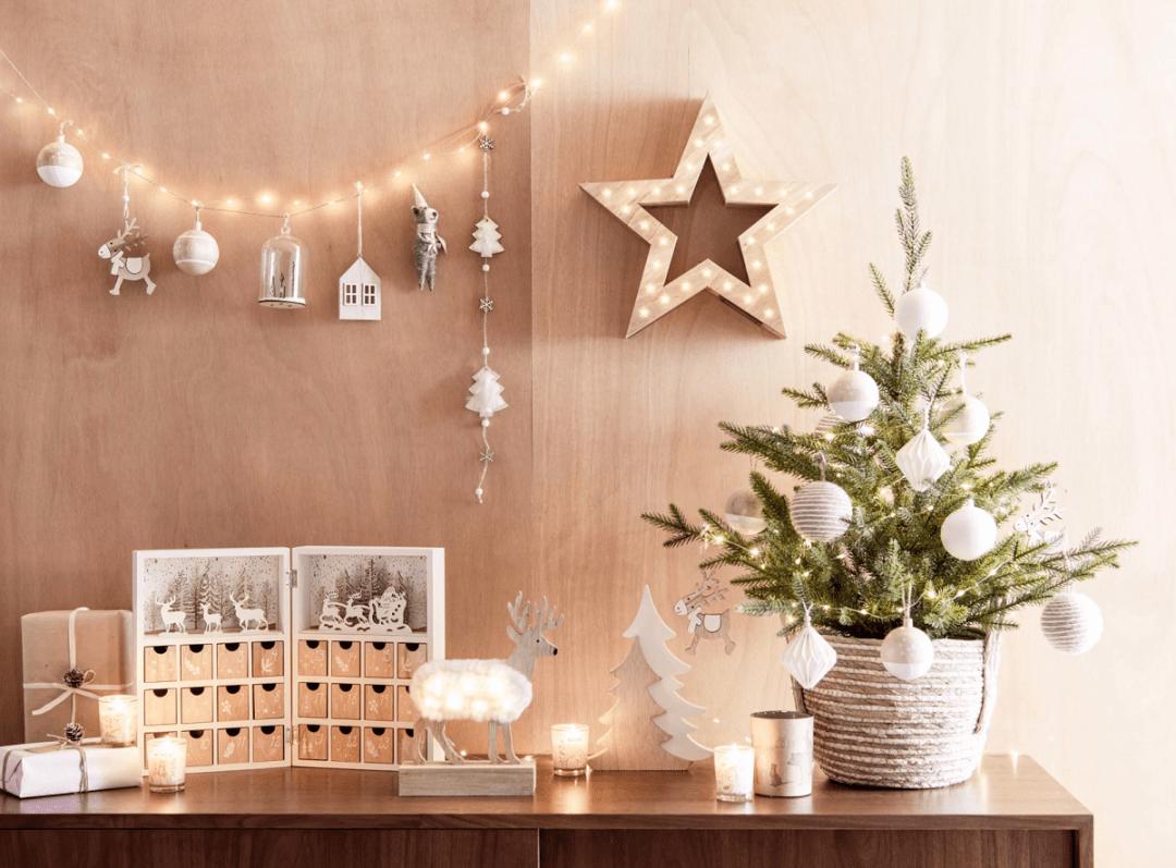 Décorations de Noël 2019 chez Maisons du Monde