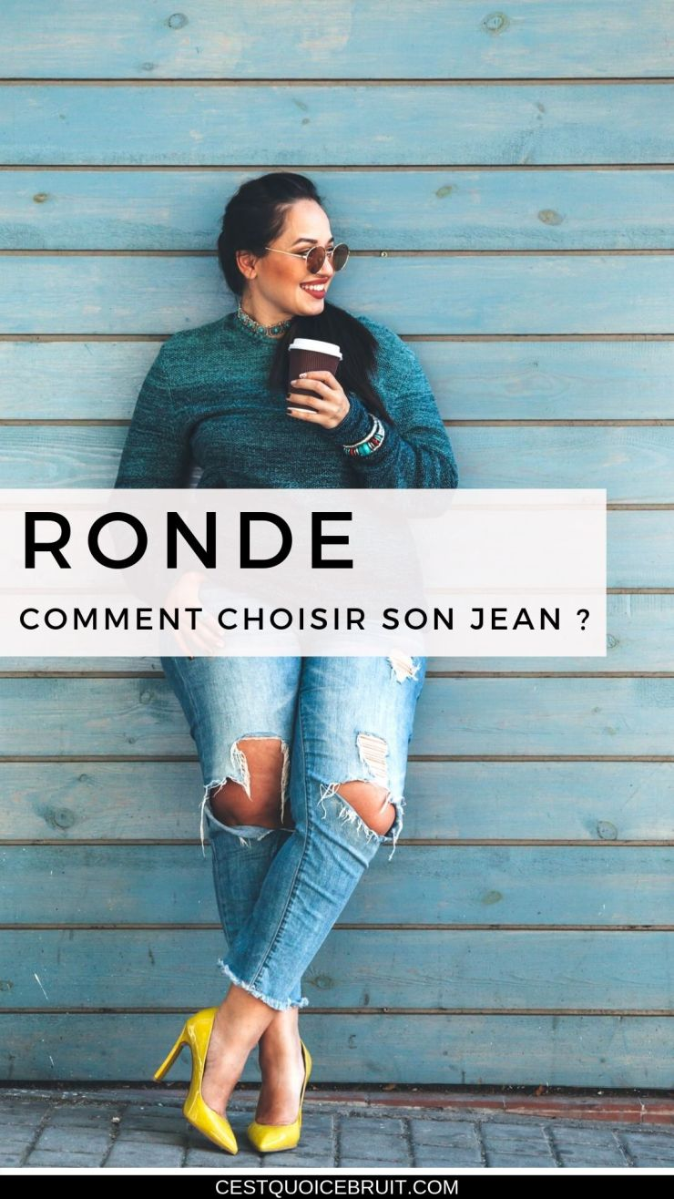 Comment choisir son jean quand on est ronde ? Quelle coupe privilégier avec sa morphologie ? #ronde #curvy #mode #style #jean