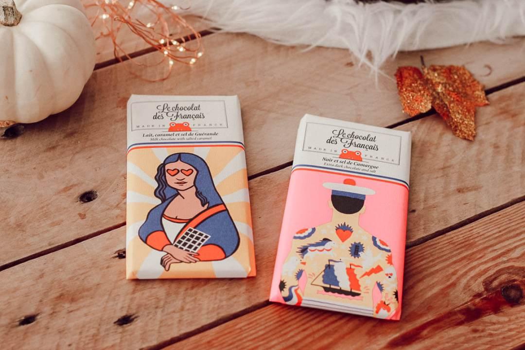 Idée cadeau made in France : Les tablettes Le chocolat des français