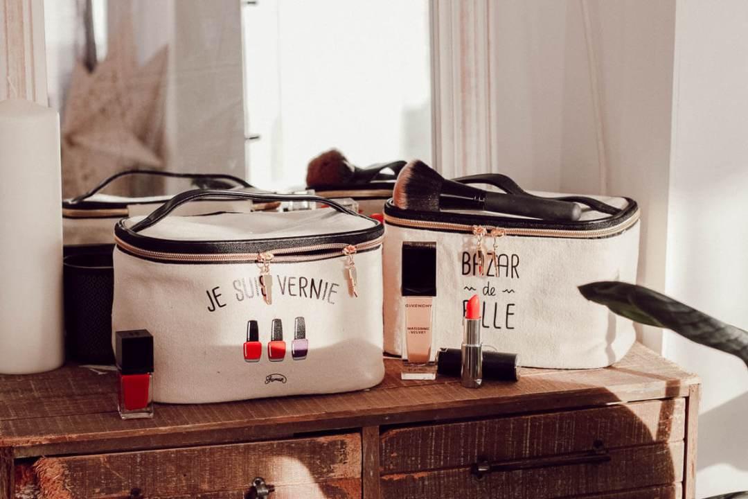Idées cadeaux Made In France pur Noël chez La chaise longue : les vanities