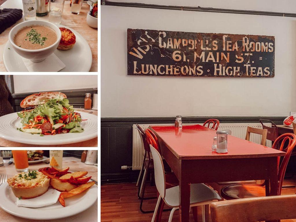 Déjeuner en famille sur Callender (Ecosse) bon et pas cher : Mhor Bread & Tearoom