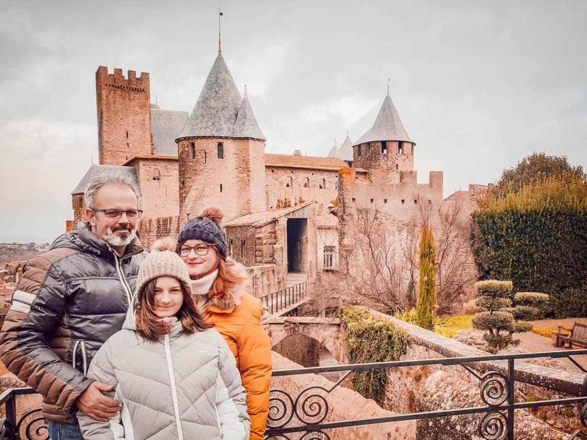 Visiter la cité de Carcassonne en famille