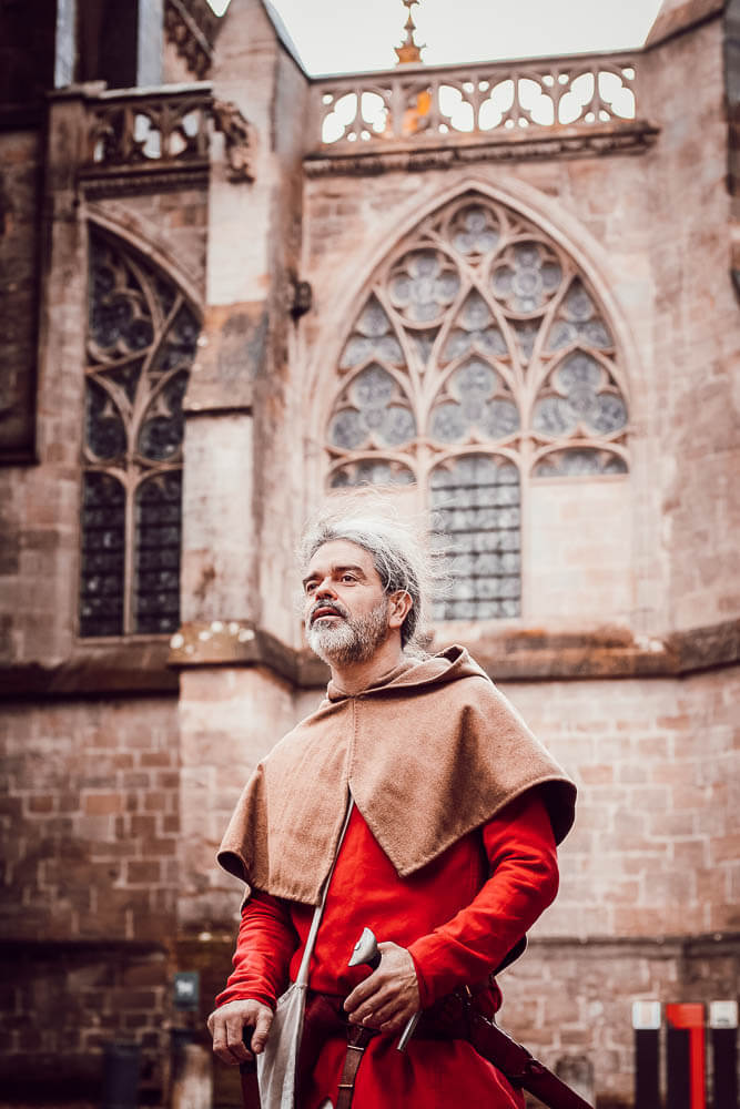 Visiter la cité de Carcassonne avec un chevalier