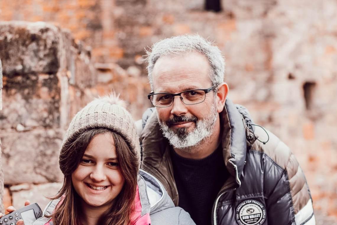 Visite du château comtal de la cité de Carcassonne en famille