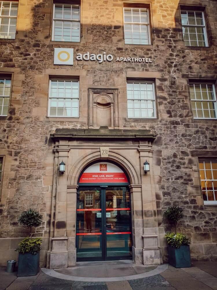 Blogtrip Edimbourg Adagio