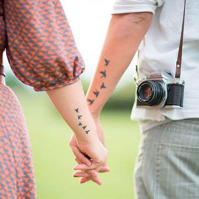 Faire un tatoo en couple pour marquer son amour