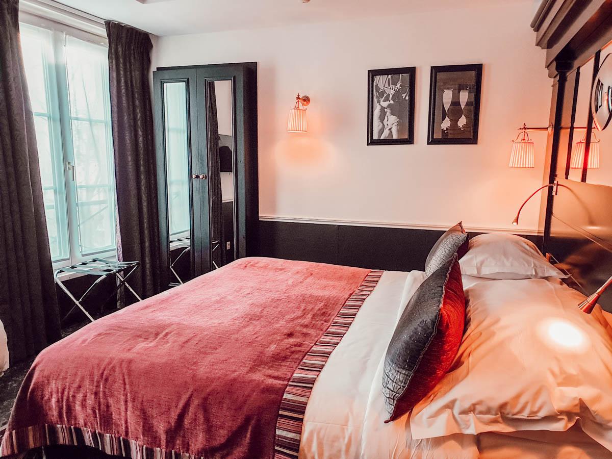 Notre chambre familiale à l'hôtel Observatoire Luxembourg à Paris