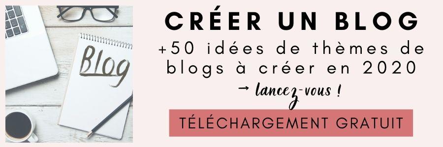 50 idées de blogs à créer en 2020