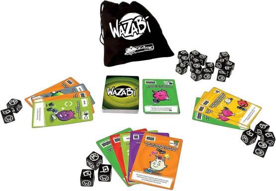 Mes jeux de société préférés : le wazabi