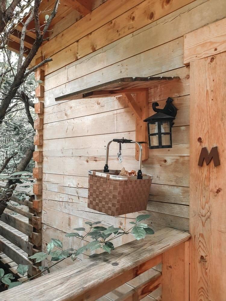 J'ai dormi dans une cabane dans les bois à Carcassonne