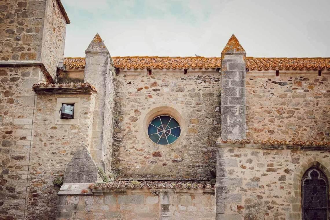 Visite du village de Montolieu (Aude)