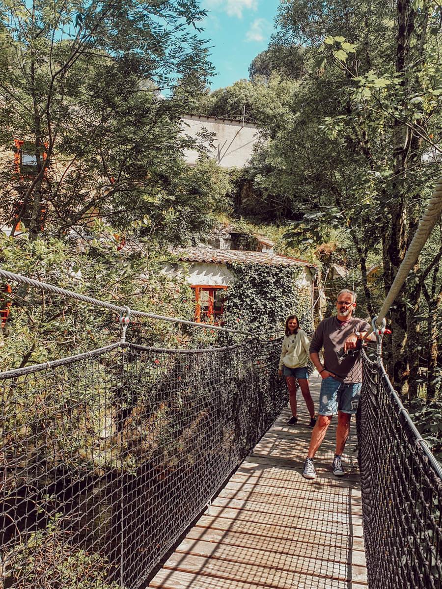 Passerelle moulin papier Aude