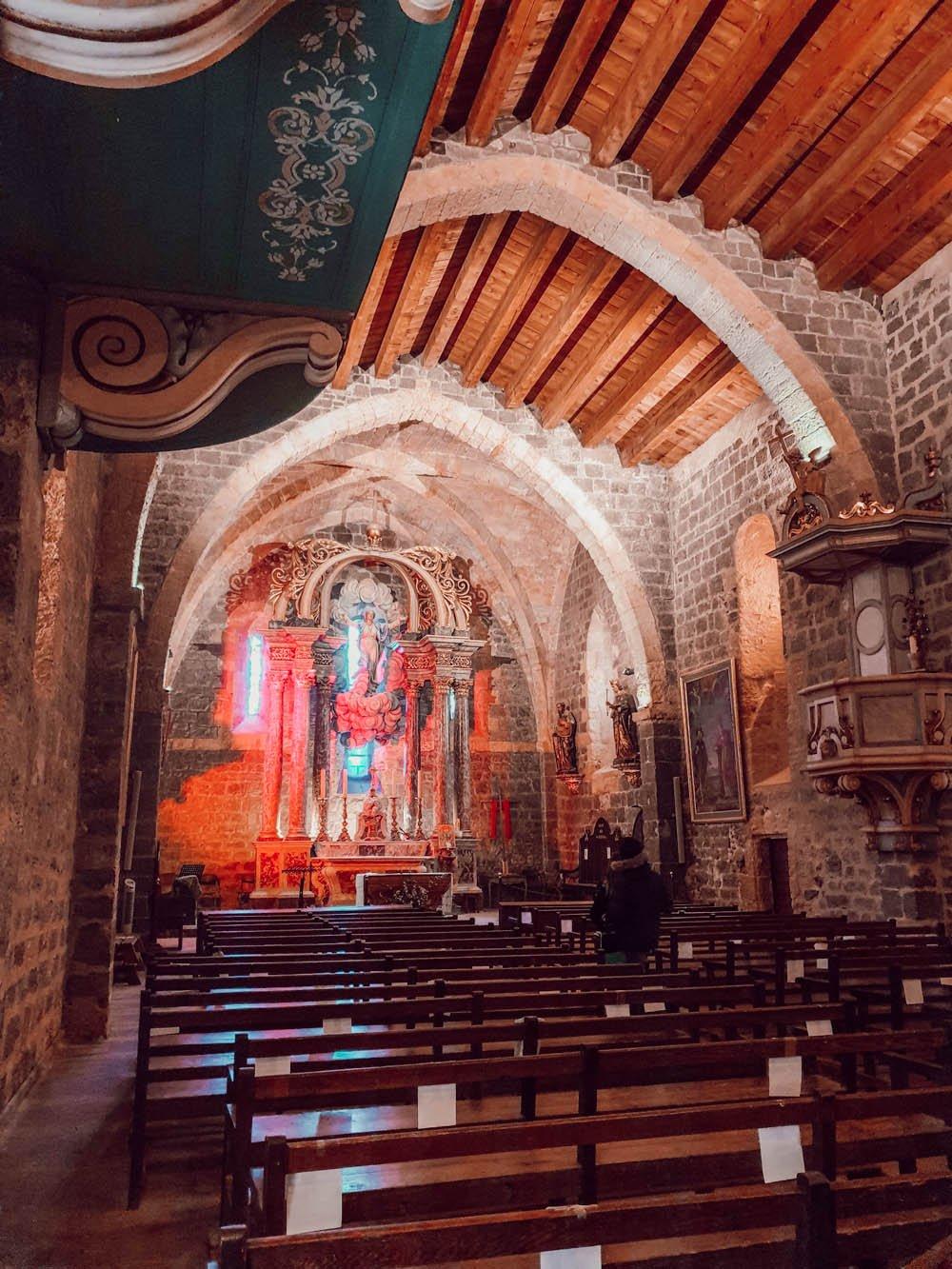 Découvrir le littoral Narbonnais : église de Gruissan