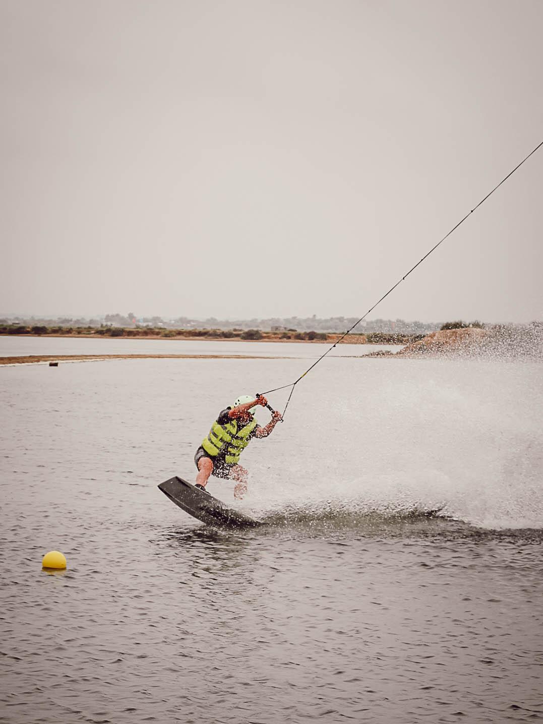 Initiation wake board, Saint-Pierre-de-la-Mer