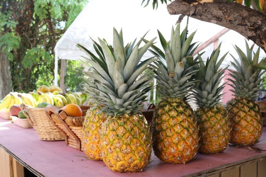 Tortola fruits and vegetables for sale