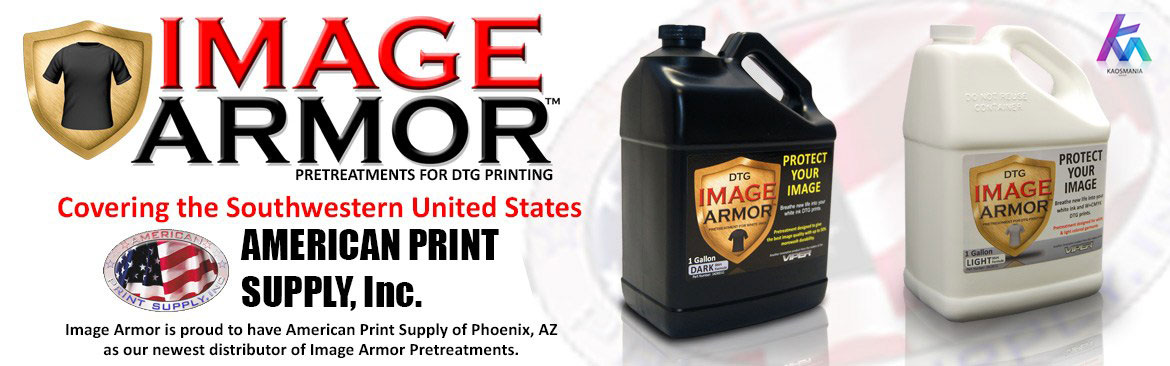 Pretreatment Image Armor Print DTG
