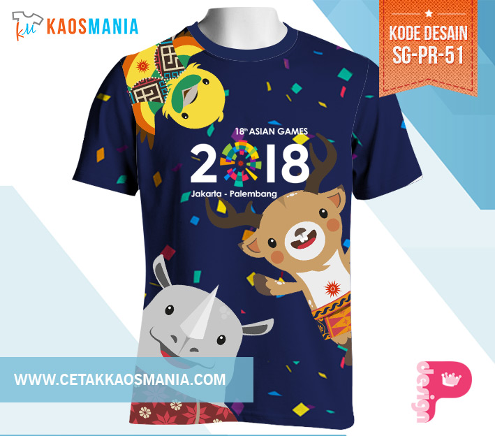 Design Kaos Asian Games 2018