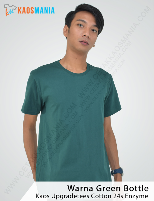 Kaos Upgradetees 24s Green Bottle