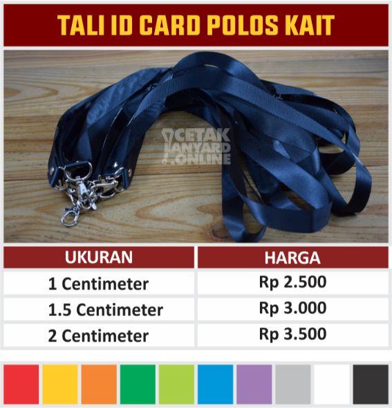 TALI ID CARD POLOS KAIT