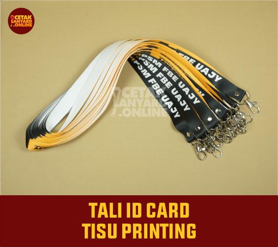 Tali Lanyard Printing