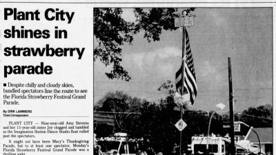 Plant City shines in strawberry parade clip