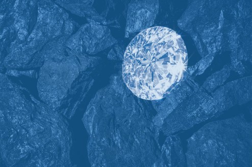 """""""Diamonds are nothing more than chunks of coal that stuck to their jobs"""" — Malcolm Forbes"""