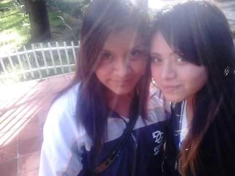 Helen Cruz Robles y Gabriela Juarez Tlaltecat