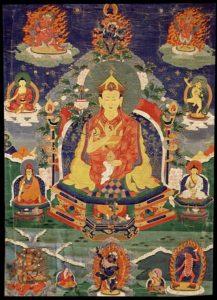 Photo of Tibetan art