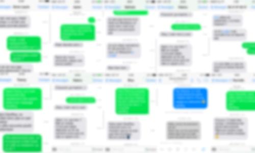 L'art des SMS