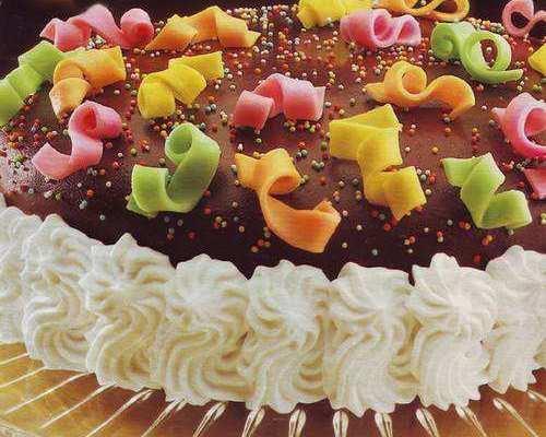 Torta Coriandoli