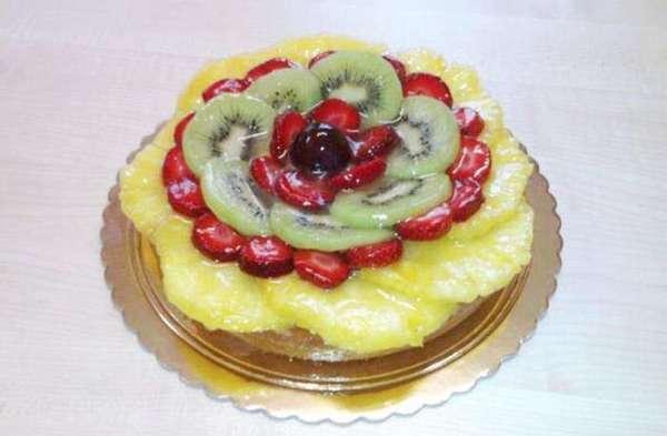 Crostata alla frutta fresca..