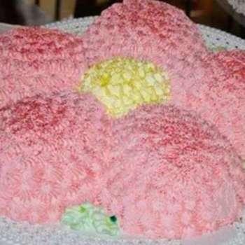 Torta fiore..