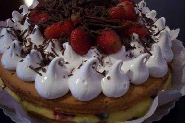 Le ricette di Franca..torta alla crema di limone