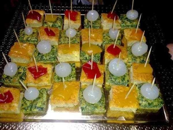 Le ricette di Franca.. Tartine a scacchiera..