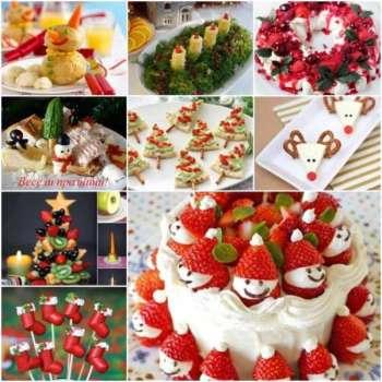 Idee originali per decorare la tavola di Natale con frutta e formaggi