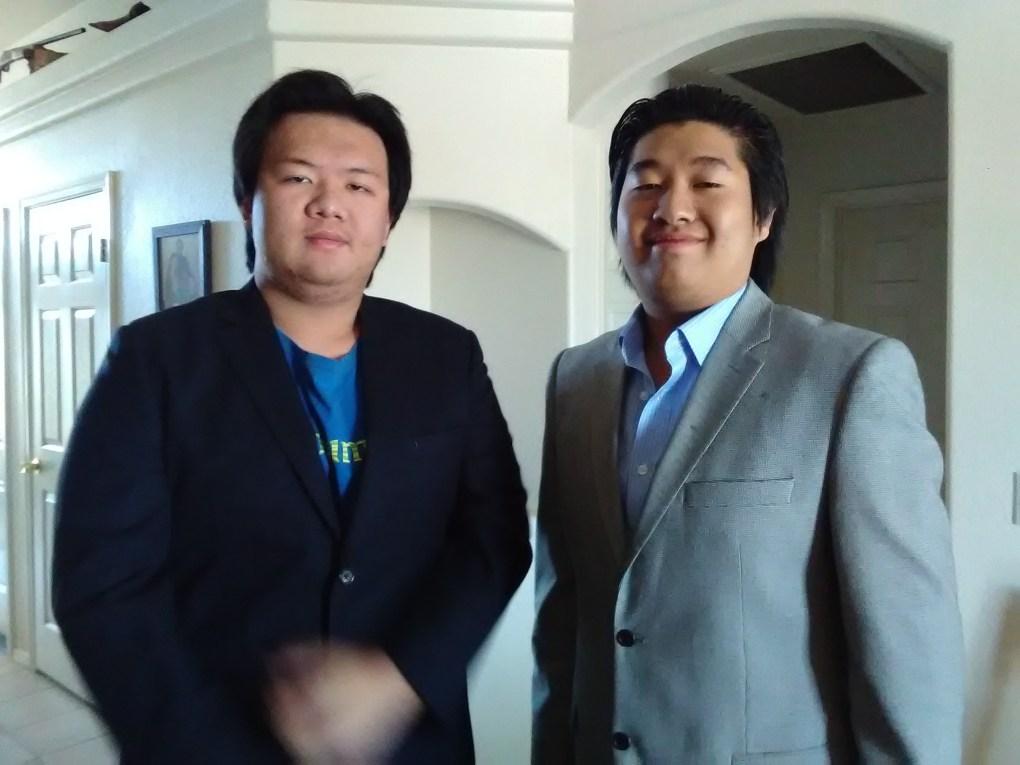 Calvin and Ryu prom night 2016