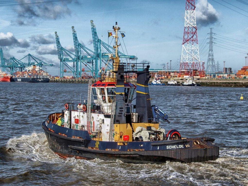 belgium Antwerp boat