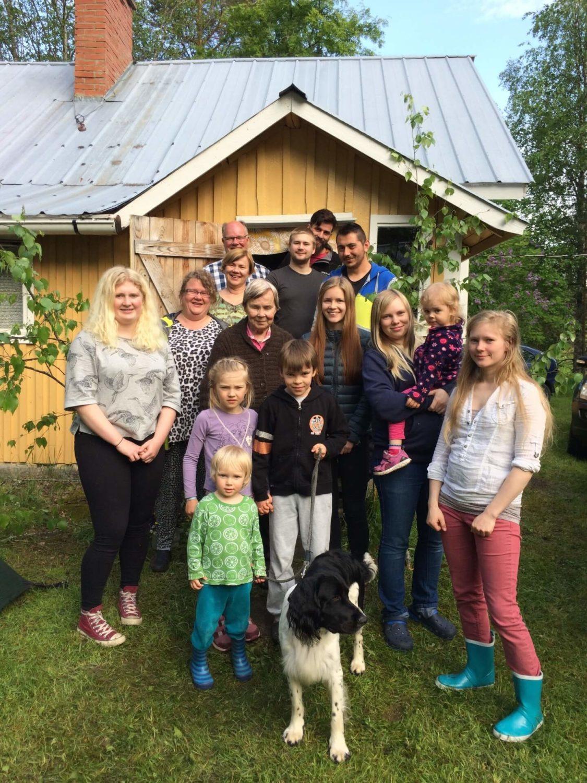 finland Halonen Olivia AUS family