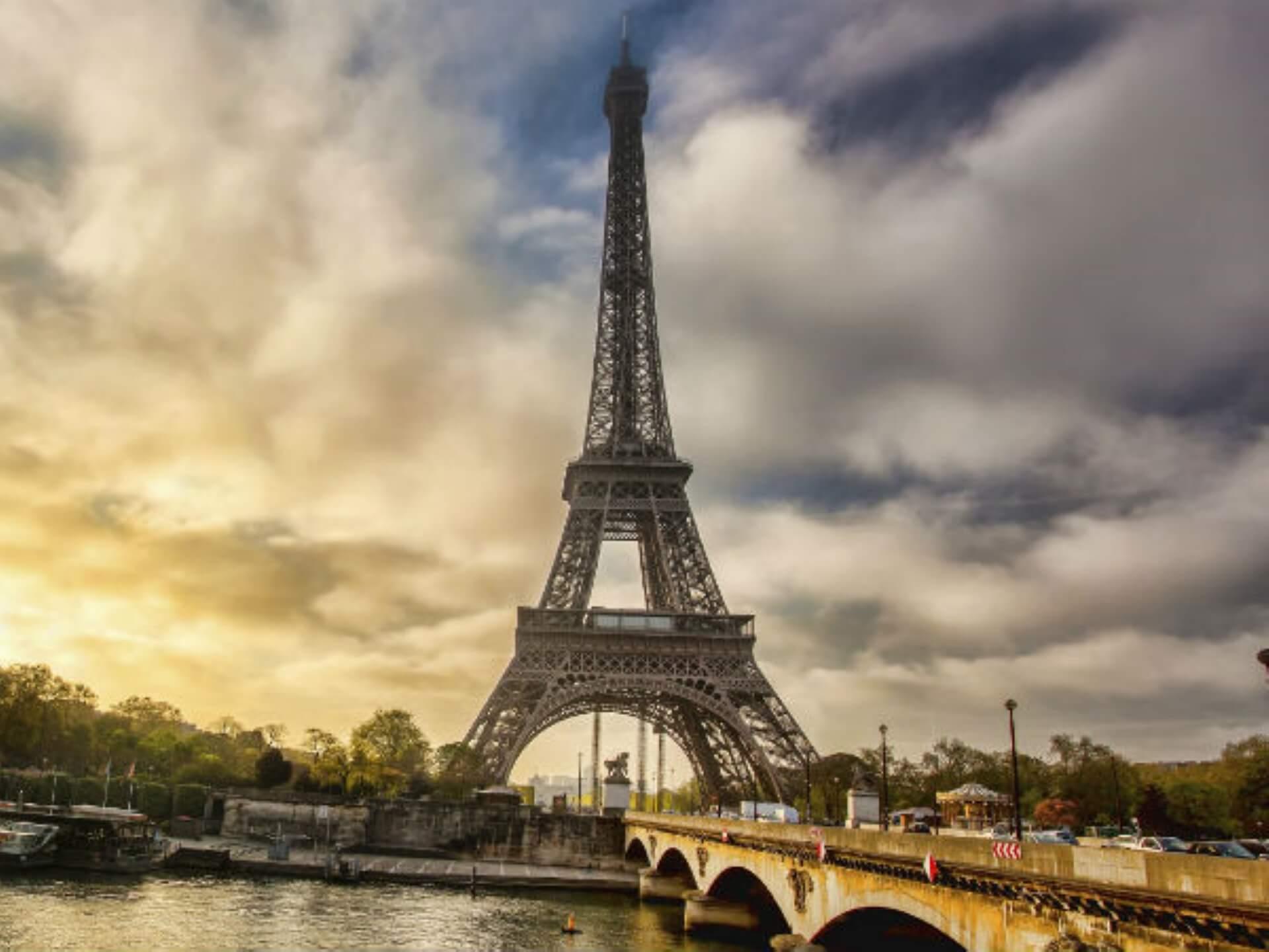 france Eiffel Tower in Paris France
