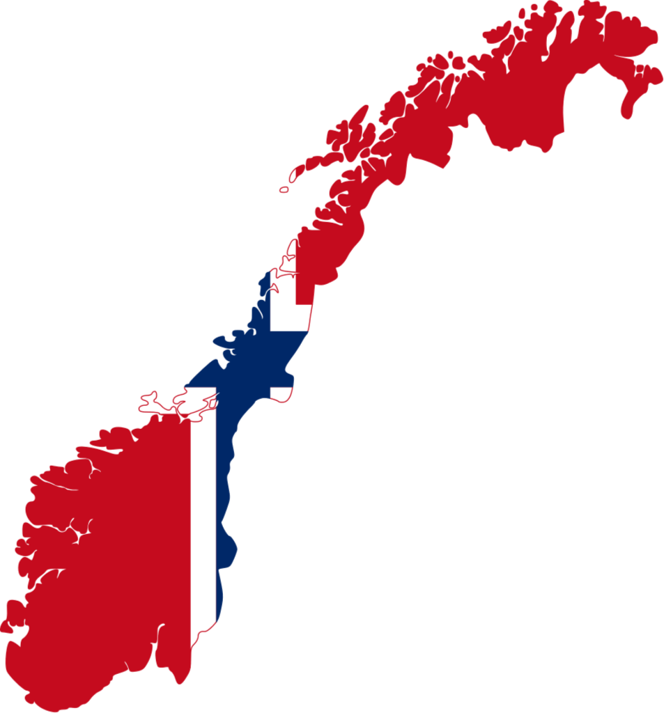 norway Norway Flag Map