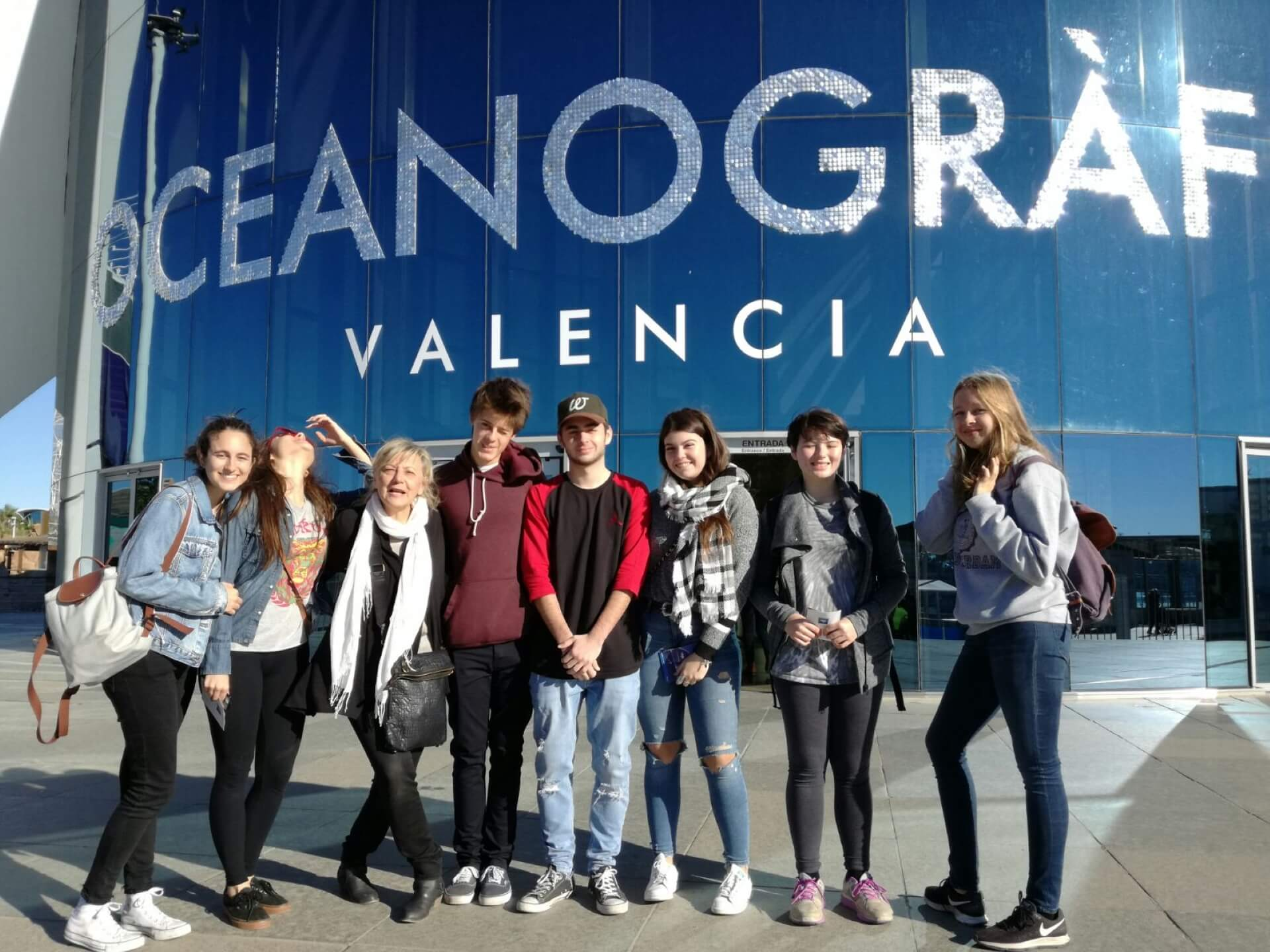 spain ES LC Trip Valencia Aquarium GR